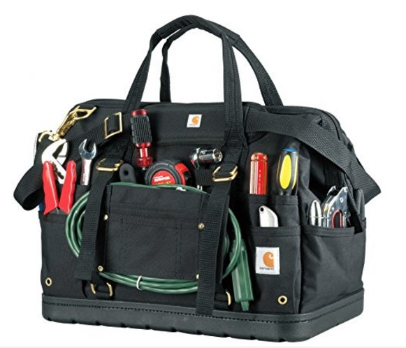 best hvac tool bag The Best HVAC Tool Bag with More Space: Carhartt Legacy Tool Bag 18-Inch w/ Molded Base