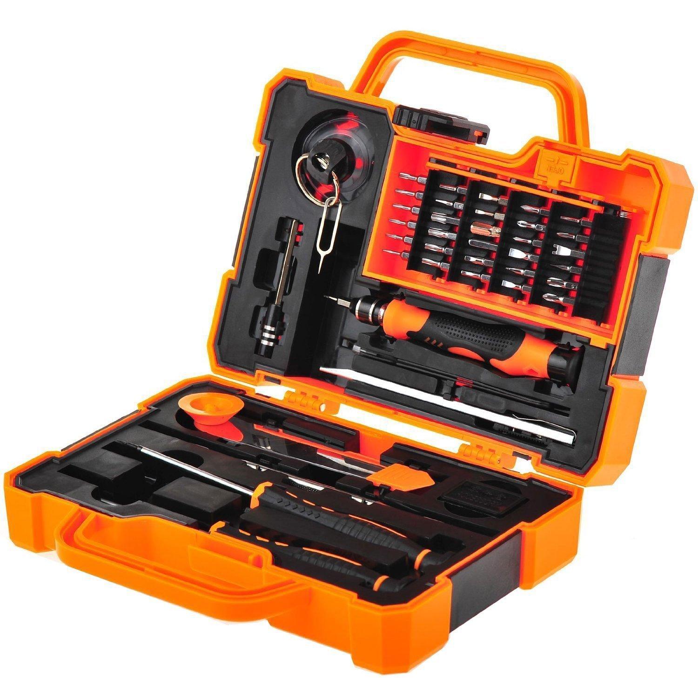 best electronic tool kit For The Beginner: EEEKit Precision 45 in 1 Electronic Tool Kit.