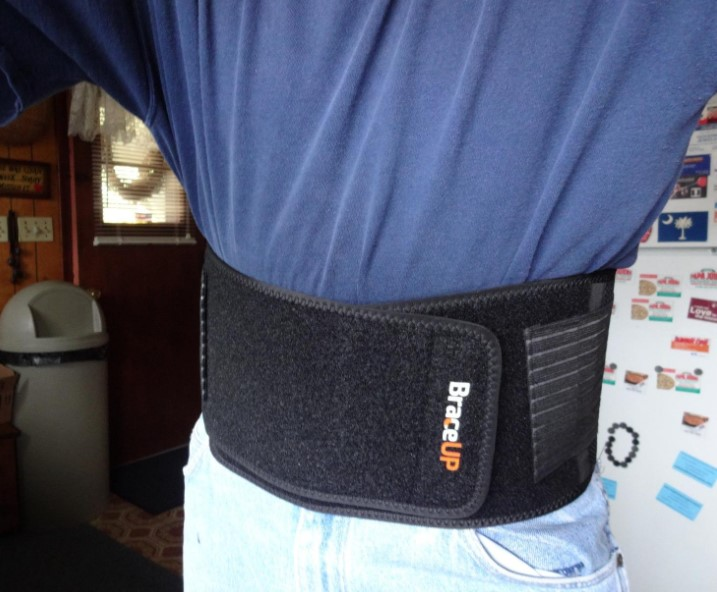best back brace for construction workers The Most Comfortable Back Brace: BraceUP Stabilizing Lumbar Lower Back Brace and Support Belt