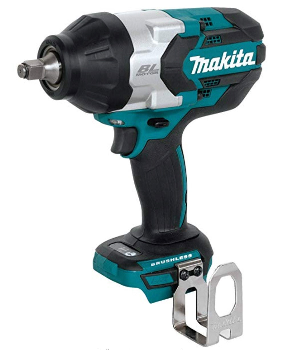 "Best Cordless Impact Wrench For Automotive Mechanics 5) Makita XWT08Z LXT 18V/1/2"" Lithium-Ion Automotive Cordless Impact Wrench"