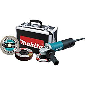 """Best Angle Grinder Under 100 2) Makita 9557PBX1 Angle Grinder 4-1/2"""" Paddle Switch Cut-Off"""