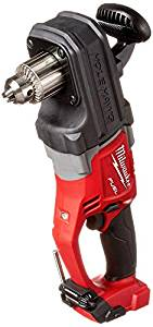 """Best Right Angle Drill For Electricians 4) Milwaukee M18 Right Angle Drill 18V FUEL HOLE HAWG 1/2"""""""