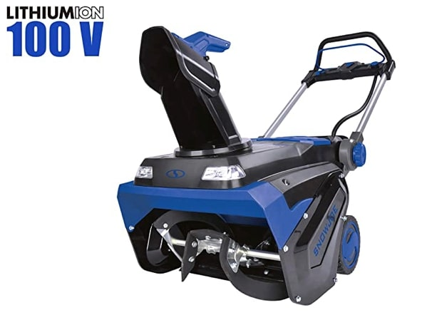 Best Electric Snow Blower For Heavy Snow 1) Snow Joe iON100V-21SB 100-Volt iONPRO Electric Snowblower Kit for Heavy Snow