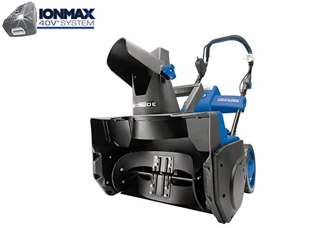 Best Electric Snow Blower For Heavy Snow 4) Snow Joe iON18SB 40-Volt iONMAX Cordless Brushless Single Stage Electric Snow Blower for Heavy Snow