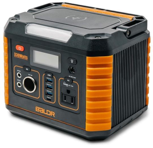 Best Generator For Home Backup 10. BALDR Portable Power Station 330W, 2019 Updated Portable Solar Generators for Home Backup