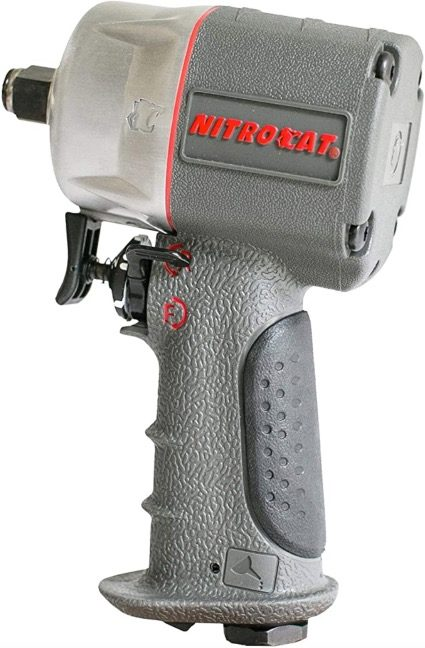 """Best Air Cheap Impact Wrench For The Money 3. AIRCAT 1076-XL 3/8"""" Compact Composite Air Cheap Impact Wrench"""