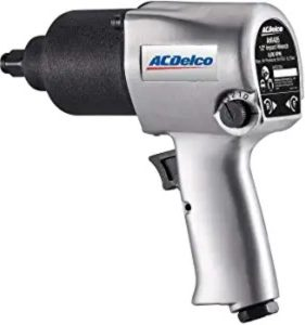 """Best Air Cheap Impact Wrench For The Money 4. ACDelco ANI405A Heavy Duty Twin Hammer ½"""" 500 ft-lbs. 5-Speed Pneumatic Cheap Impact Wrench"""