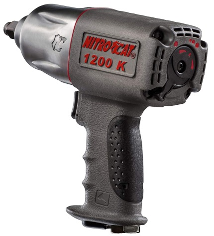 Best Air Cheap Impact Wrench For The Money 7. NitroCat 1200-K 1/2-Inch Kevlar Composite Air Cheap Impact Wrench