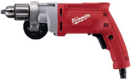 Best Corded Drill For Woodworking 7. Milwaukee 0299-20 Magnum 8 Amp 1/2-Inch Corded Drill for Woodworking